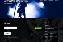 Running in WordPress
